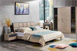 Bộ giường tủ phòng ngủ giá rẻ GT123