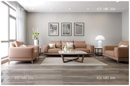 Bộ sofa bọc da NTX1913