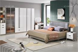 Giường tủ phòng ngủ nhập khẩu GT111