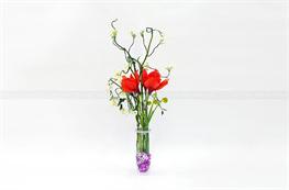 Mẫu hoa lụa đẹp H12
