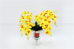 Mẫu hoa lụa đẹp H17