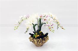 Mẫu hoa lụa đẹp H19