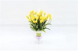 Mẫu hoa lụa đẹp H25