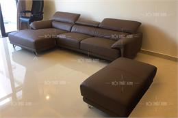 Sofa da thật 100% nhập Malaysia H9244-G