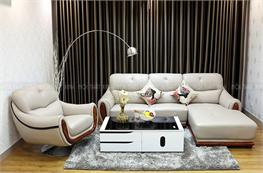 Sofa da thật mã NTX720