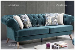 Sofa nỉ cho Spa CD1873