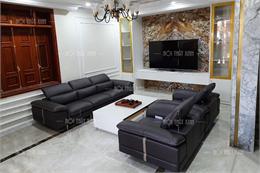 Sofa phòng khách nhập khẩu H2084-V-DB