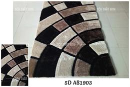 Thảm lông xù Carpet HL 5D AB1903